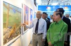 Triển lãm 70 tác phẩm mỹ thuật mới nhất của nghệ sỹ Việt Nam-Lào