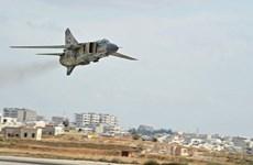 Không quân Syria tấn công phiến quân tại biên giới Liban