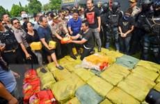 Indonesia phá vụ buôn bán ma túy quy mô lớn nhất Đông Nam Á