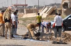 Iraq phát hiện hố chôn người tập thể bị IS bắn vào đầu tại Ramadi