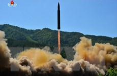 Tình báo Mỹ đánh giá Triều Tiên có thể đã thu nhỏ đầu đạn hạt nhân
