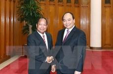 Thủ tướng: Công an Việt-Lào phối hợp phá tan mọi âm mưu thù địch