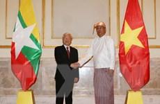 Tổng Bí thư: Việt Nam ủng hộ tiến trình hòa giải dân tộc của Myanmar