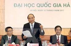 Thủ tướng: Sớm triển khai dự án Đại học Quốc gia Hà Nội tại Hòa Lạc