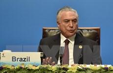 Thêm cáo buộc mới đối với Tổng thống Brazil Michel Temer