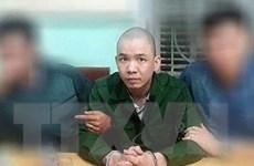 Thông tin về quá trình truy bắt tử tù trốn khỏi phòng biệt giam