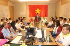 Đại sứ Việt Nam tại Malaysia động viên đoàn thể thao tại Para Games 9
