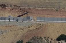 Tường biên giới Syria-Thổ Nhĩ Kỳ sẽ được hoàn tất vào cuối tháng 9