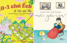 Mười cuốn sách dễ thương, ngọt ngào nhất dành cho bé yêu