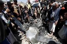 Quân Houthi bắn rơi máy bay không người lái của Mỹ tại Yemen