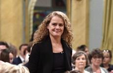 Tân Toàn quyền Canada Julie Payette chính thức nhậm chức