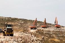 Palestine chỉ trích Israel về ý định xây thêm nhà định cư ở Bờ Tây