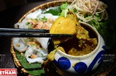 Mỳ Quảng - món ăn mang tính hồn cốt của người xứ Quảng