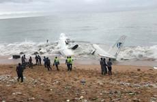 Máy bay rơi tại Cote d'Ivoire thuộc phiên chế quân đội Pháp