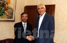 Việt Nam và Italy tăng cường hợp tác trong lĩnh vực giám sát tài chính