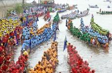 Campuchia tưng bừng tổ chức lễ hội đua thuyền lớn nhất trong năm