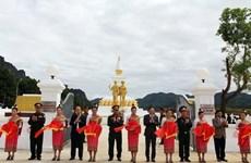 Khánh thành, bàn giao Đài tưởng niệm Liên minh chiến đấu Việt Nam-Lào