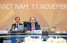 [Photo] Bế mạc Hội nghị các Nhà lãnh đạo Kinh tế APEC lần 25