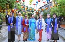 Phu nhân Trưởng đoàn APEC: Ấn tượng với không gian cổ kính ở Việt Nam
