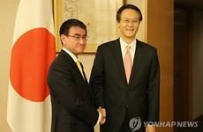 Hàn Quốc và Nhật Bản nhất trí cải thiện quan hệ song phương