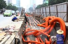 Mục tiêu xây dựng ''thành phố không dây'' của Hà Nội đang bị chậm