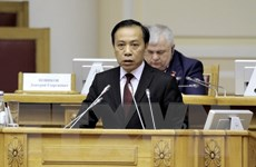Đoàn đại biểu Việt Nam dự Đại hội lần thứ 14 Đảng Cộng sản Brazil