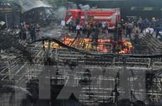 Hỏa hoạn gây thương vong lớn tại nhà máy sản xuất nhựa ở Ấn Độ