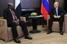 Tổng thống Sudan thăm Nga thúc đẩy quan hệ song phương