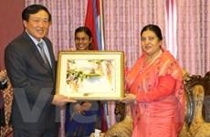 Xây dựng, đẩy mạnh quan hệ hợp tác trong lĩnh vực tòa án với Nepal