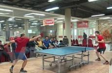Giải bóng bàn Incentra Open 2017 kết nối cộng đồng người Việt tại Nga