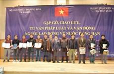 Đẩy mạnh hoạt động tư vấn cho người lao động Việt Nam tại Hàn Quốc