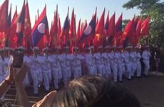Gặp mặt ngoại giao đoàn kỷ niệm 42 năm ngày Quốc khánh Lào