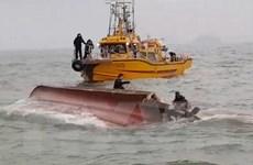 Hàn Quốc: Tàu cá bị lật do va chạm tàu chở dầu, 7 người tử vong