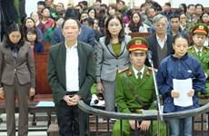 [Video] Hà Nội mở phiên tòa xét xử nguyên Phó Giám đốc Sở NN&PTNT