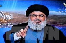 Lãnh đạo Hezbollah kêu gọi biểu tình phản đối Mỹ công nhận Jerusalem