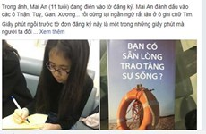 Câu chuyện về cô bé vị thành niên đầu tiên Việt Nam đăng ký hiến tạng