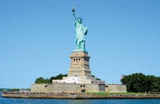 Giấc mơ giữa đô thị không ngủ New York vào một ngày nắng ấm