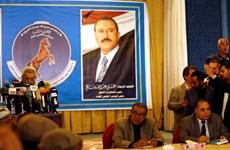 Yemen: Đảng của cựu Tổng thống Saleh chỉ định lãnh đạo mới