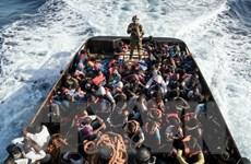 Chìm thuyền trên Địa Trung Hải, khoảng 100 người di cư mất tích