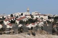 Nhiều dự án xây nhà định cư của Israel nằm sâu trong khu Bờ Tây