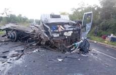 Tai nạn liên hoàn giữa 6 phương tiện tại Brazil, ít nhất 13 người chết