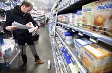 Sữa nhiễm khuẩn của hãng Lactalis ảnh hưởng tới 83 quốc gia