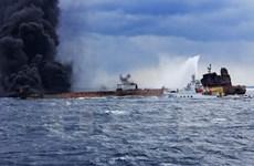 Trung Quốc phát hiện thêm vệt dầu loang tại nơi chìm tàu chở dầu Iran