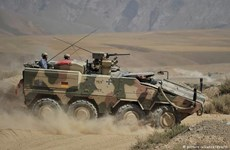Đức chuyển xe thiết giáp tới Litva để tăng sự hiện diện của NATO