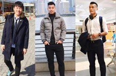 Mê mẩn với phong cách thời trang của những người hùng U23 Việt Nam