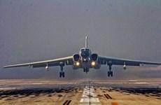 Máy bay quân sự Trung Quốc rơi trong quá trình tập luyện