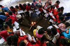 Rét đậm, rét hại, Lạng Sơn chủ động cho học sinh nghỉ học