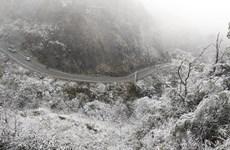 Băng tuyết phủ trắng - Ô Quy Hồ, Hà Giang như trong cổ tích