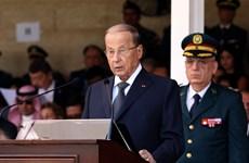 """Tổng thống Liban tuyên bố """"nỗ lực ngăn chặn lòng tham của Israel """""""
