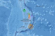 Động đất mạnh 6,2 độ richter làm rung chuyển khu vực Bắc Mariana
